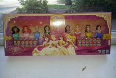 Disney Princess Pez Dispenser Set