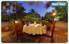 This is where we celebrated my good friend's 25th anniversary.  Under the stars at Hamanasi - Hopkins, Belize.