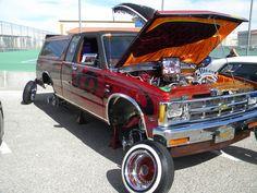 lowrider truck....