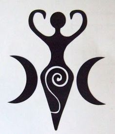 Pagan Esoterica: The Ram, Ovaries, Divine Feminine, Baphomet and Goddess Movements – All Truth Exposed Gaia Goddess, Black Goddess, Mother Goddess, Triple Goddess, Earth Goddess, Goddess Symbols, Pagan Symbols, Ancient Symbols, Viking Symbols