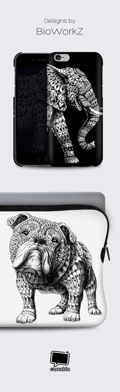 Fine artist @bioworkz creates beautiful designs for your iPhone 6 case, Macbook Air case and many other devices. Get yours printed now!