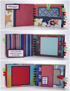 Military Scrapbook Mini Album