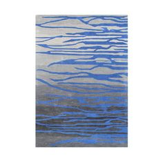 Hand-made Alliyah Ash Abstract Wool Area Rug (5' x 8') | Overstock™ Shopping - Great Deals on Alliyah Rugs 5x8 - 6x9 Rugs
