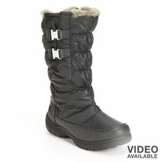 Totes Puffer Tall Winter Boots