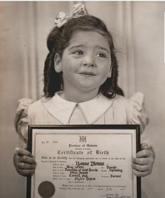Yvonne,  birth certificate
