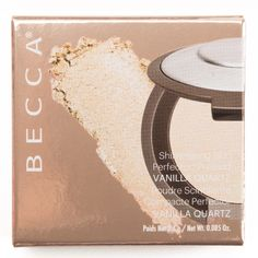 Becca Vanilla Quartz Shimmering Skin Perfecteur Pressed Highlighter Mini Review, Photos, Swatches