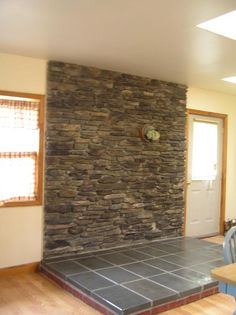 How to Build a Stone Veneer Wood Stove Backing