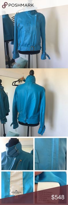 J.lindeberg 💯 leather jacket Its an amaaazing jacket. Beautiful color. Leather is in great condition. Its very soft. Worn few times. Has barely noticeable scratch u can see it in the picture. Bought it few years ago on sale for $758. I tried to post as many pics as i could but if u need more pictures ask and i will☺️ i will take respectful offer! J. Lindeberg Jackets & Coats