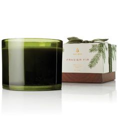 Some might call this a Christmas candle. But it's so much more! This festive multi-wick candle fills your home with a crisp, just-cut forest fragrance that evokes seasonal celebrations, holidays and the winter solstice. Frasier Fir candles are a glowing focal point for entertaining, holiday décor, hostess gifts and more.