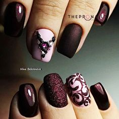 "Elegant nails art that you would say ""wow"" #nails #elegant #stylish #inspiration"