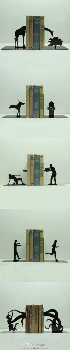 Cool/clever bookends