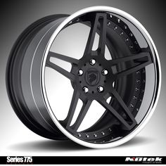 Nutek Forged Wheels Series 775 Concave texture black