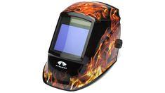 Pyramex Flame Leadhead WHAM30 Series #WHAM3030FL Auto Darkening Welding Helmet, Welding Gear, Headgear, High Speed, Solar, Safety, Lens, Design, Products