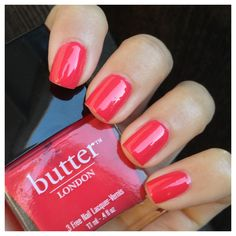 "What I Blog About When I Blog About Books: NOTD: Butter London ""Macbeth"""