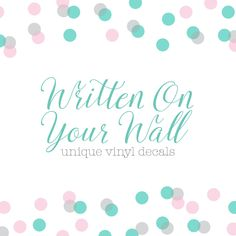Browse unique items from WrittenOnYourWall on Etsy, a global marketplace of handmade, vintage and creative goods.