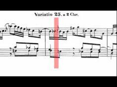 Las Variaciones Goldberg de Johann Sebastian Bach, BWV 988. Siguiendo las partituras (scrolling). Interpretación de Trevor Pinnock.