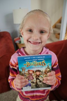 When The BoxTrolls came out in the theater, we were not able to see the movie, but that made all of us even more interested in seeing this movie now that it has come out on Blu-ray.