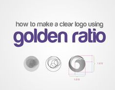 how to create logo using golden rectangle