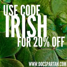 @Regrann from @docspartanproducts -  We're drinking Guinness early and throwing this sale out now! Our IG followers get first crack on the #DocSpartan goodies while in stock. Sale good through St. Paddy's Day. #veteranowned #stpatricksday #sale - #regrann