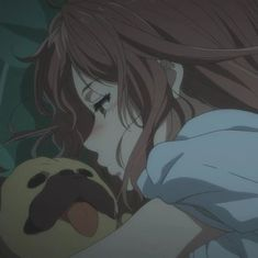 """Find and save images from the """"𝐚𝐞𝐬 𝐚𝐧𝐢𝐦𝐞"""" collection by 𝐦𝐞𝐨𝐰 🥛🍒 on We Heart It, your everyday app to get lost in what you love. Girls Anime, Manga Girl, Anime Art Girl, Sad Anime, Kawaii Anime, Anime Girl Crying, Dandere Anime, Theme Animation, Anime Shop"""