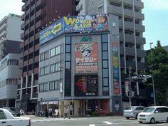 """"""" AURORA VISION """" 17.May.2013   博多駅に程近い場所のオーロラビジョンに写真展の写真が流されています!!!驚"""
