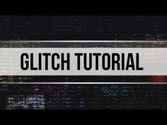 Glitch INTRO TUTORIAL │ 100% After Effects (ADVANCED Tutorial) - YouTube