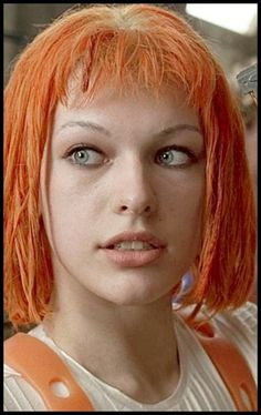 Milla Jovovich the Fifth Element Milla Jovovich Fifth Element, Leeloo Fifth Element, Gorgeous Eyes, Beautiful Women, Divas, Redheads Freckles, Teresa Palmer, The Best Films, Nicole Kidman