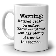 Humorous Gift for Retired Man and Woman, Funny Retirement Gag Party Supplies Ideas Coffee Mug, Printed on Both Sides - Pensioen - WomenFunny Retirement Gifts For Men, Retirement Cakes, Retirement Parties, Retirement Ideas, Retirement Decorations, Employee Appreciation Gifts, Get Well Gifts, Mug Printing, Gifts For Your Boyfriend