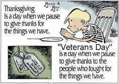 Thankfulness for Veterans
