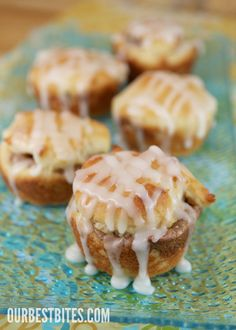 GF Glazed cinnamon cream cheese bites. made from Betty Crocker gluten free cake mix. 1 Box of Betty Crocker Gluten Free Yellow Cake Mix (for non-celiacs, the original recipe used Duncan Hines Golden Butter Cake Mix) 4 Large Eggs 3/4 Canola Oil 1/2 sugar 1 C Sour Cream Filling: 1/4 C Brown Sugar 2 t Cinnamon 1 C Pecans, chopped bake at 350F  24 servings 225 calories each 250 with icing drizzle