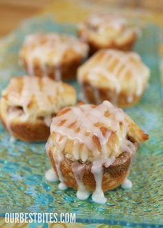 {Gluten Free} Dinner Rolls & Glazed Cinnamon Cream Cheese Rolls | Our Best Bites