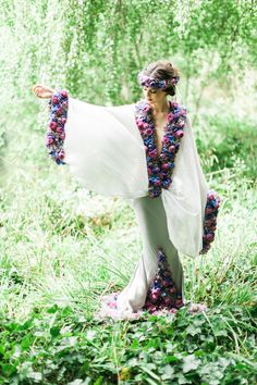 Chelsea Flower Show Dress by Larry Walshe | Kate Nielen Photography | Bridal Musings Wedding Blog 3