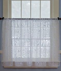 Tree Of Life Lace Tier Panel - Country Curtains®