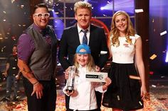 Tonight, Season Four of MASTERCHEF JUNIOR came to an exciting conclusion as host/executive producer and judge Gordon Ramsay and fellow judges Graham Masterchef Junior, Gordon Ramsey, Hells Kitchen, New Details, Executive Producer, Season 7, New Kids, Girls In Love, Everyday Fashion
