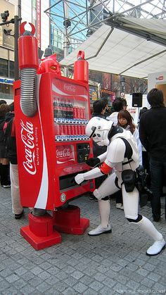 Vending machines of the future. File this one under 'Only in Japan' - for now.