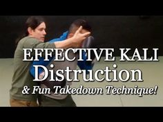 Fun Kali Self Defense and Takedown Technique - Destroy Punches - Exciting!