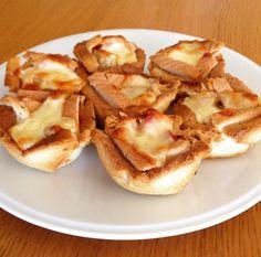 λουλουδοπιτσάκια!!! ! Από την κουζίνα του/της Fen Nom Nom στο Famecooks.com Sweet Party, Finger Foods, Nom Nom, French Toast, Breakfast, Recipes, Morning Coffee, Rezepte, Finger Food