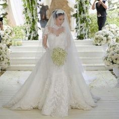 Newest No Cost heart evangelista Bridal Robe Ideas Marriage ceremony gowns aren't only the actual functional technique to defend clothes, make-up in Elegant Wedding Gowns, Couture Wedding Gowns, Gorgeous Wedding Dress, Lace Weddings, Bridal Wedding Dresses, Beautiful Gowns, Wedding Bride, Wedding Veils, Dream Wedding