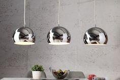 Designer Hängeleuchte CHROMAGON Chrom Kugelleuchte Lampe Leuchte | 79,95€