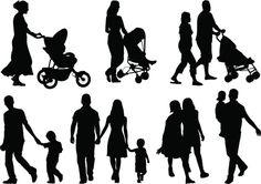 Vectores libres de derechos: Families