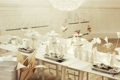 Gorgeous dreamy white styling by Lo Bjurulf