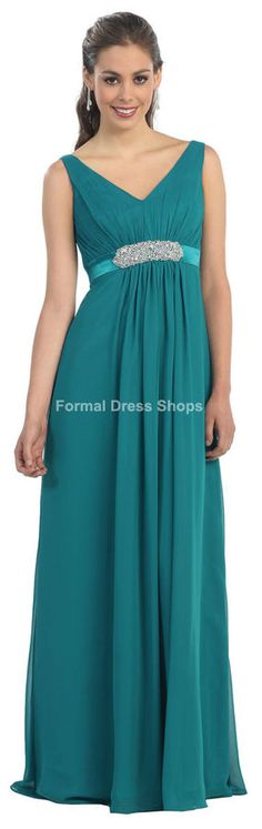 0e263eb6b62 Simple Long Evening Formal Gown Church Funeral Bridesmaid Dress + Plus Size