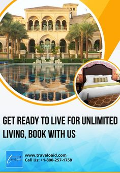 Get Ready to Live for Unlimited Living Experience services for all you need to feel homely. Call us to know more about our online Hotel Booking services. Book Hotel Online, Flight And Hotel, This Is Us, Hotels, Mansions, Live, Best Deals, House Styles, Outdoor Decor