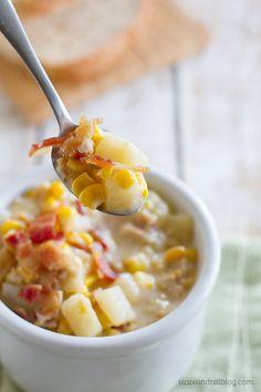 Super easy Crock Pot Corn Chowder - the best recipe!