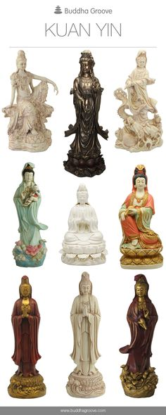 Usually depicted as a young female deity, Kuan Yin personifies compassion.