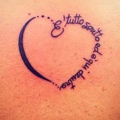1000 images about i tatuaggi con le pi belle frasi di for 3 parole da tatuare