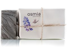 The owner of Osmia Organics sent me a sample of this black clay facial soap. Absolutely amazing!