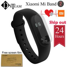 Original Xiaomi Mi Band 2 Smart Fitness Bracelet Mi Band 2 Wristband Heart Rate Monitor IP67 Waterproof Sleep Monitor OLED Touch  Price: 22.00 & FREE Shipping #computers #shopping #electronics #home #garden #LED #mobiles #rc #security #toys #bargain #coolstuff |#headphones #bluetooth #gifts #xmas #happybirthday #fun