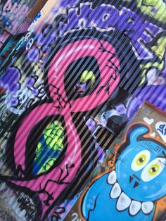 Fight breast cancer art by Hahn graffiti artist Dallas,Tx