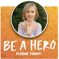 Be a Butterfly Hero -- sign the pledge to receive your Butterfly Garden Starter Packet